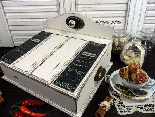 """Мини-комоды ручной работы. Ярмарка Мастеров - ручная работа. Купить """"Французское кафе"""" короб, бюро. Handmade. Чёрно-белый"""