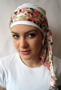 how to make head wraps for cancer patients