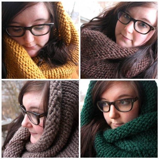 New cowls / infinity scarves in my mom's knits shop. thenatureofmaryjane.etsy.com    I think I almost have one of each now. :D  #thatsme