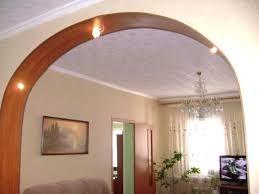Картинки по запросу арки ниши перегородки из гипсокартона