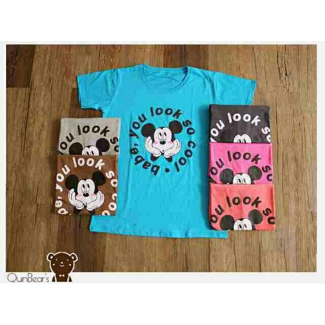 Saya menjual Kaos wanita / big mickey cool / kaos lengan pendek / size XL seharga Rp45.000. Dapatkan produk ini hanya di Shopee! https://shopee.co.id/ssfashionkaos/660860929 #ShopeeID