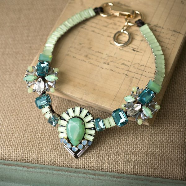 Sometimes, It's the Little Things that Mean the Most. Check out this Jewel Crystal Statement Necklace at http://silkroadexpo.com/