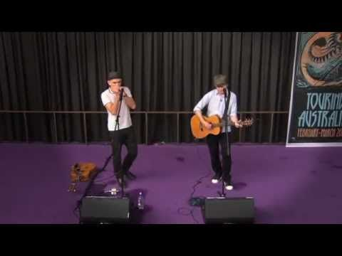 Neil Finn & Paul Kelly - Perform Into Temptation at the Opera House