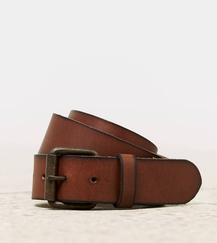 A belt to hold up my jeans!! Brown leather is my fave