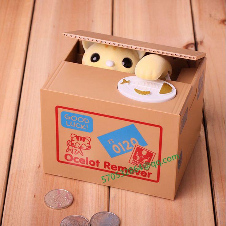 $24.00 (Buy here: https://alitems.com/g/1e8d114494ebda23ff8b16525dc3e8/?i=5&ulp=https%3A%2F%2Fwww.aliexpress.com%2Fitem%2FCreative-steal-money-cat-piggy-bank-money-to-eat-Japanese-Lucky-cat-piggy-bank-Children-s%2F32728455341.html ) Creative steal money cat piggy bank money to eat Japanese Lucky cat piggy bank Children's electric toy for just $24.00