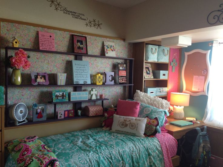 Dorm Room Decor, Fun Busy Room // Dorm Room Inspiration Part 56