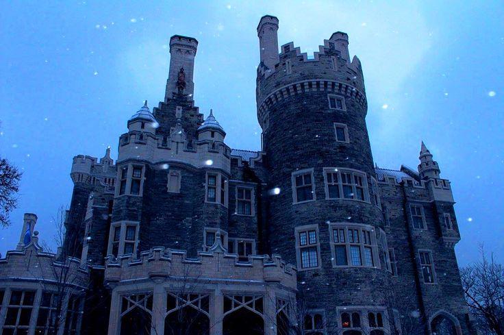 #casaloma #castle #toronto #discoverontario #silhouette #canada #photography