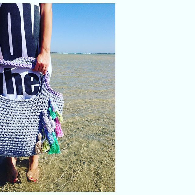 трикотажная пряжа сумка