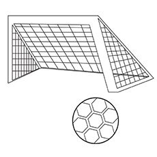 Soccer Ball Coloring Pages Free Printables Momjunction Coloring Pages To Print Football Stadiums Soccer