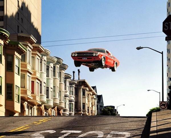 Flying cars by Matthew Porter