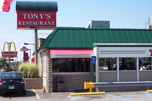 Tony S Restaurant Saginaw Mi