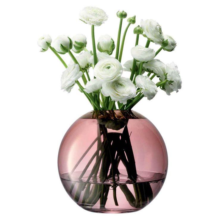 Vase Polka H20cm, kupfer By : LSA