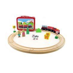 Kaper Kidz Wooden Train Set in Tin Case