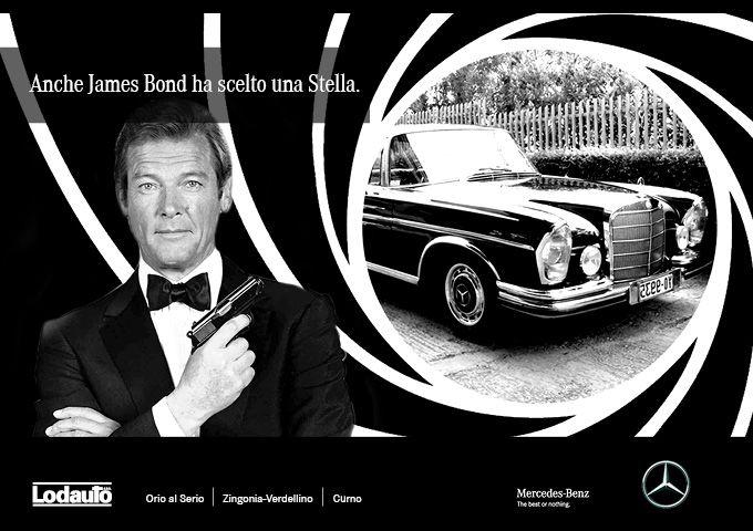 L'agente segreto più famoso del mondo a bordo di una Stella: James Bond, nel film Octopussy, guida la #Mercedes250SE. Due miti degli anni '80, icone di #stile, #eleganza e #carattere. Impossibile non condividere!