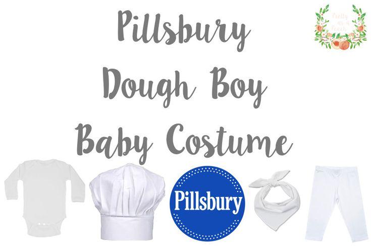 Pillsbury Dough Boy Baby Costume | Halloween | Pretty as a Peach