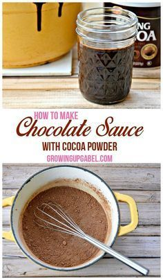 Run out of chocolate syrup? Check out this easy recipe to make homemade chocolate sauce with cocoa powder! Your homemade chocolate syrup will be ready in just 5 minutes.