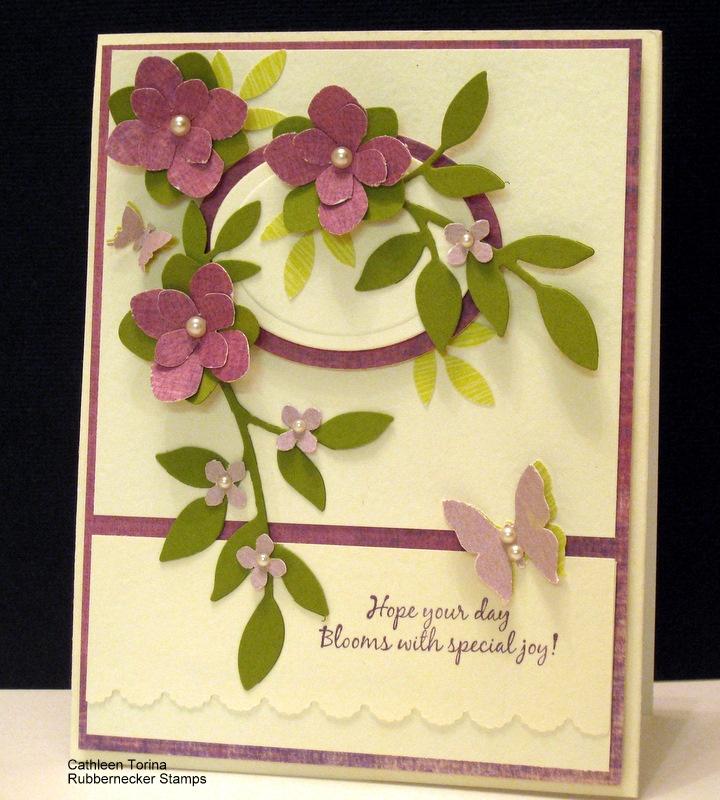 Purple Blooms cardBloom Cards, Greeting Cards, Cards Creations, Purple'S Bloom, Gorgeous Purple, Crooks Cards, Cards Templates, Purple Blooms Lov, Purple Flower