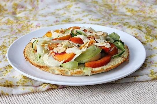 veggie socca   Healthy Recipes   Pinterest   Dishes, Deep dish and ...