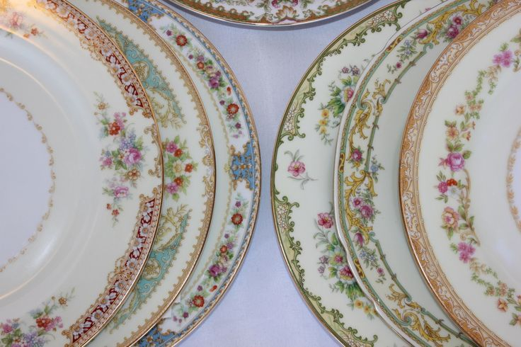 Mismatched Vintage China Petit Floral Collection Inventory - Cheri's Vintage Table