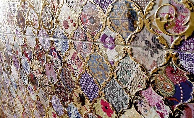 Ceramica Latina Damasco Damasco (Latina)-Latina-3 , stile Orientale, Bagno, Ceramica, pavimento, rivestimento, Lucida, Non rettificato