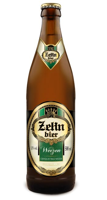 Cerveja Zehn Bier Weizen, estilo German Weizen, produzida por Cervejaria Zehn Bier, Brasil. 5.5% ABV de álcool.