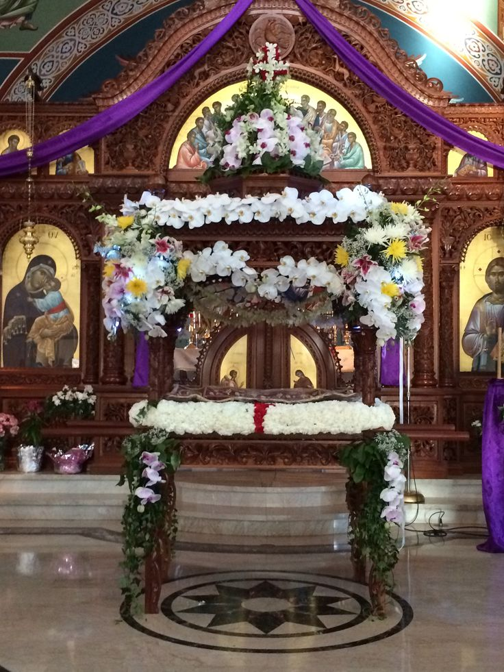 Epitafios- Holy Friday night- 2014 - St. Haralambos GOC, Niles IL