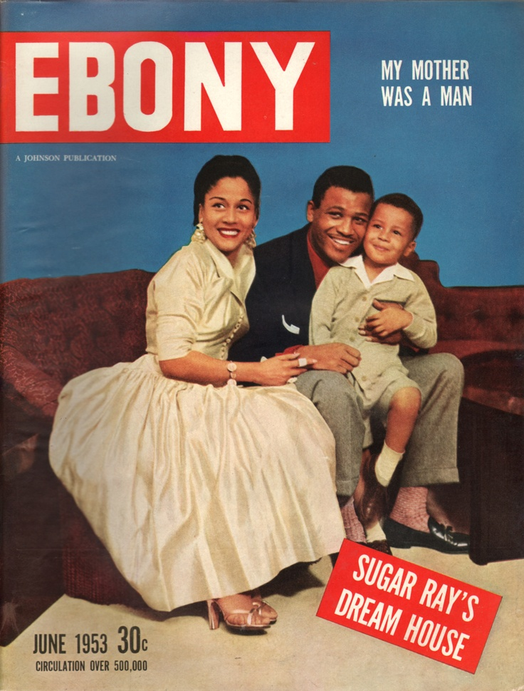 Ebony, a monthly magazine for the African-American market, was founded by John H. Johnson and has published continuously since the autumn of 1945. A digest-sized sister magazine, Jet, is also publishe