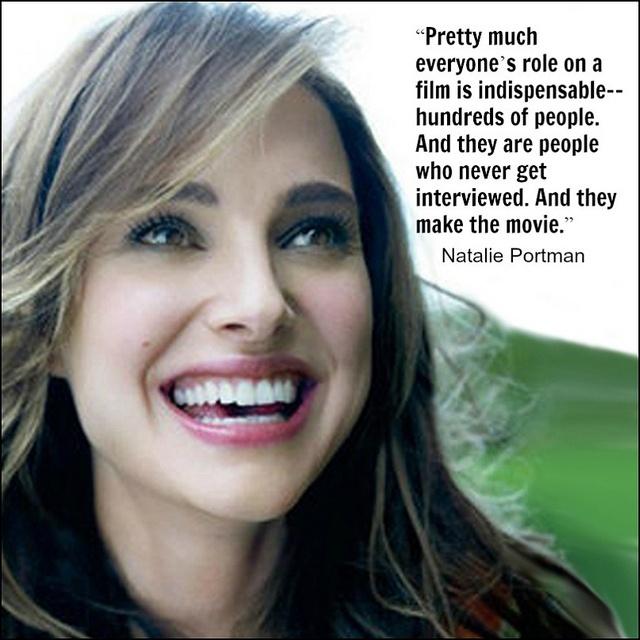 Natalie Portman - Movie Actor Quote -Film Actor Quote # ...