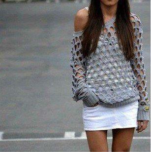 Love this crochet top! #crochetpattern