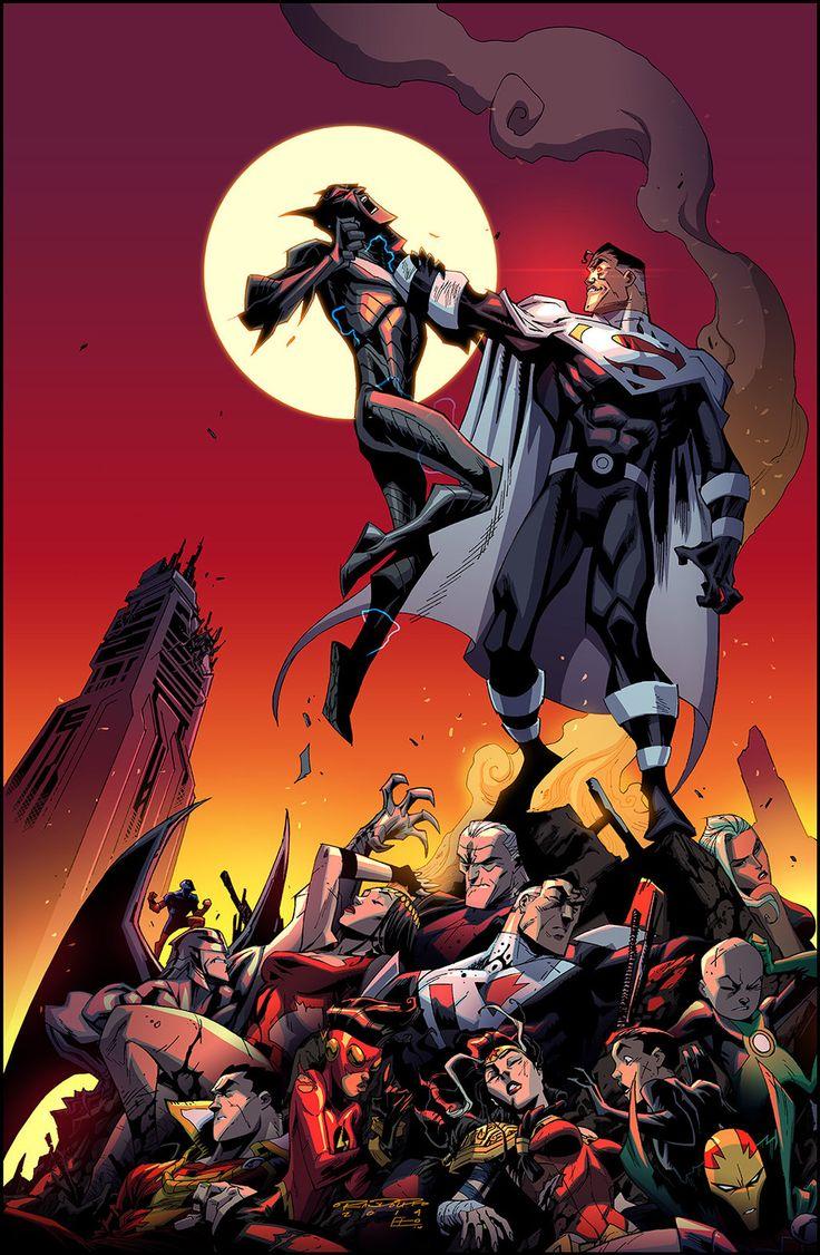 Batman Beyond Universe 12 by KharyRandolph.deviantart.com on @deviantART