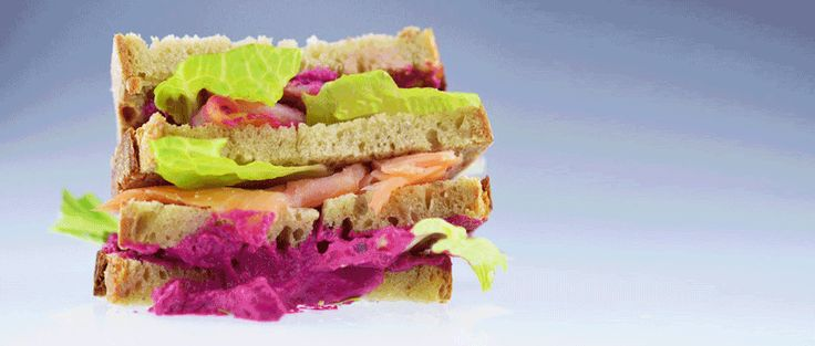 PUMP UP THE MAYO / SALMON SANDWICH