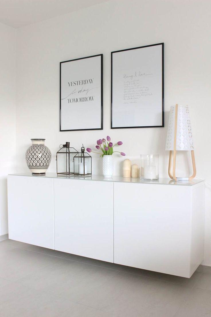 die besten 25+ kommoden dekorieren ideen auf pinterest - Wohnzimmer Deko Ideen Ikea