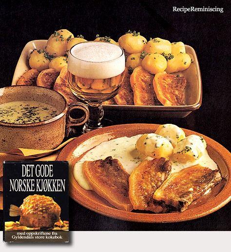 Roasted Pork with Onion Sauce / Stekt Flesk med Løksaus