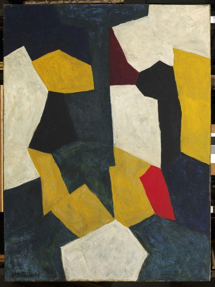 Serge Poliakoff, Composition Abstraite, ca. 1966, Opera Gallery