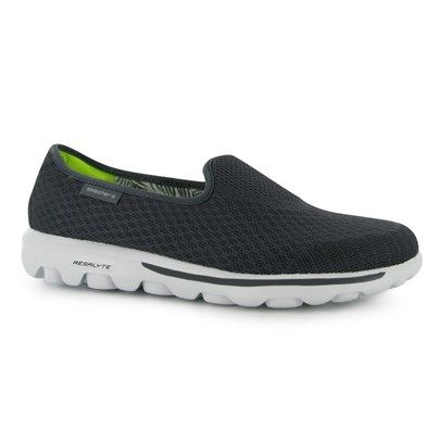 h2Skechers Go Walk Shoes Ladies/h2br /Three Zones of memory foam cushioning to the insole for the perfect comfort for these lightweight, super trendy Skechers which will contour and form to your foot. br /br / Ladies slip on trainersbr / Lightweightbr / Mesh Upperbr / Memory Foam solesbr / Slip on stylebr / 3Form Fitbr / Skechers brandingbr / Upper: textilebr / Lining: textilebr / Sole other materials/li/ulbrbMeasurements/bbra href='http://c2.mysalec.com/sizechart/Skechers Ladies Size…