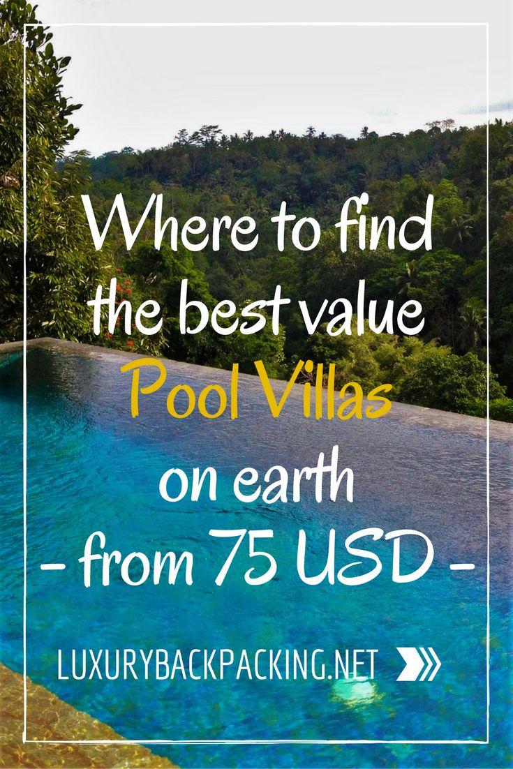Cheapest Pool Villas in the world | Bali Pool Villas | Cheap pool villas | Where to find cheap luxury villas | Money Saving Tips | Accommodation Hacking | Travel Hacking
