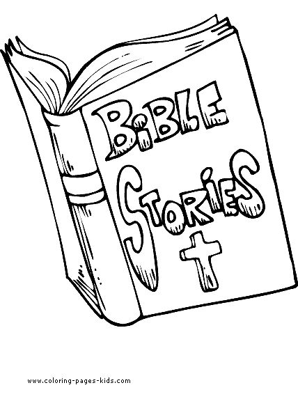 Holy Bible coloring pages for kids | Bible coloring pages ...