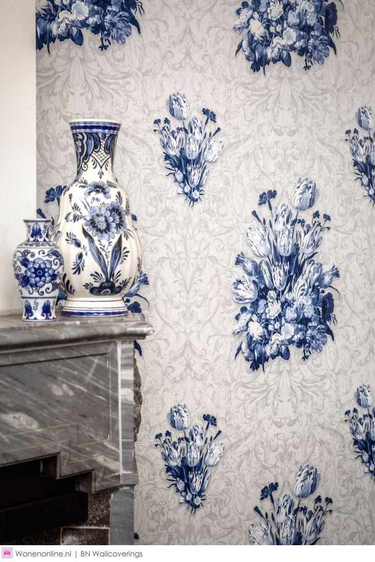 Meer dan 1000 afbeeldingen over wanddecoratie bn wallcoverings wandbekleding behang op - Behang grafisch ontwerp ...