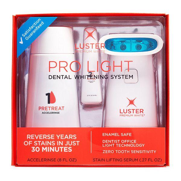 pro light dental whitening system luster pro light dental whitening. Black Bedroom Furniture Sets. Home Design Ideas