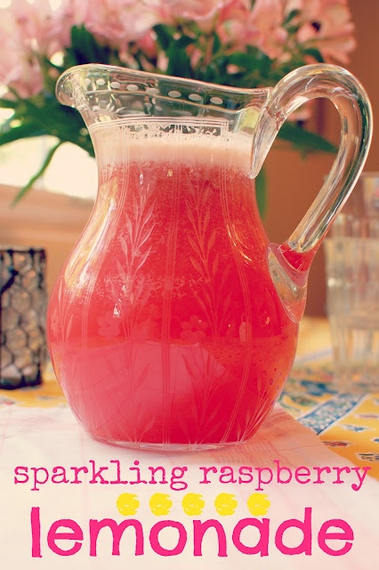 lbs good spoon: sparkling raspberry lemonade