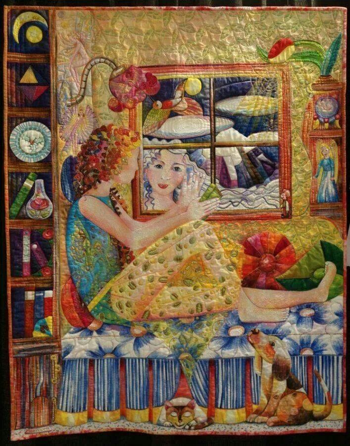 854 best Quilts - Art Quilts images on Pinterest | Applique quilts ... : quilt life - Adamdwight.com
