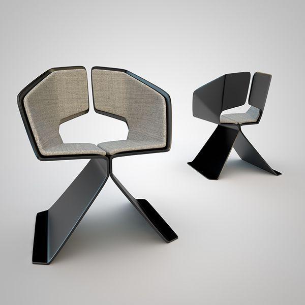 Laminatti, la silla especular de Federico Varone
