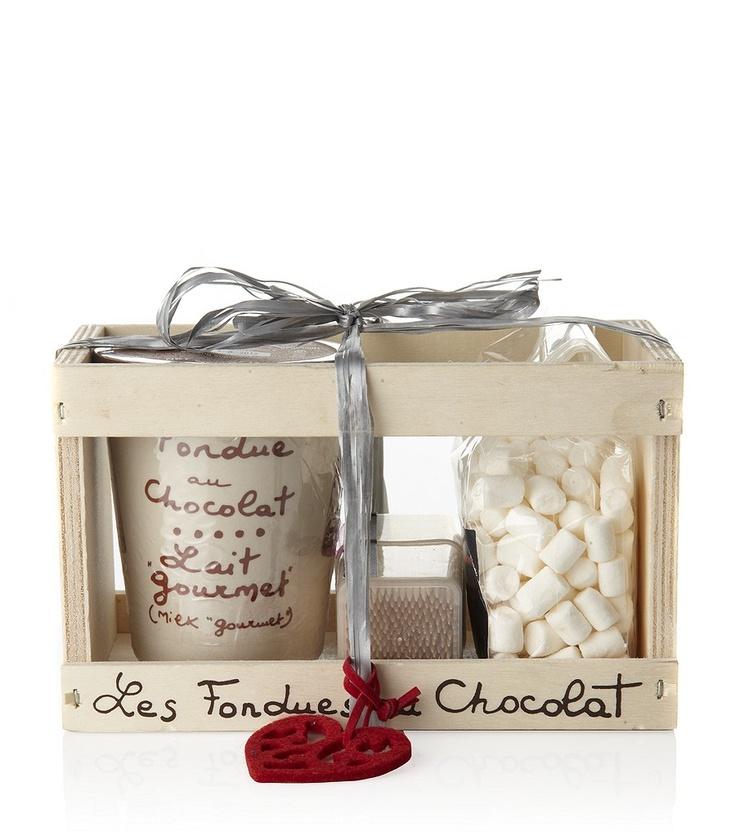 AUX ANYSETIERS DU ROY  Chocolate Fondue Set