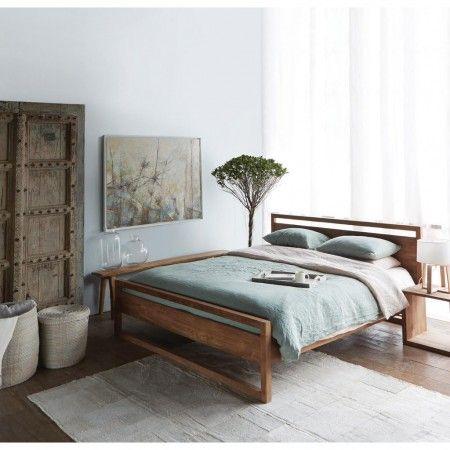 Ethnicraft Light Frame bed - Ledikant - Slaapkamer | Fundesign.nl