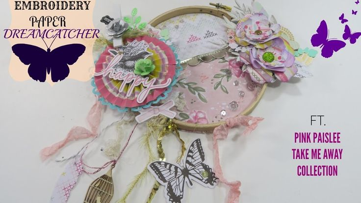 Paper Embroidery Dreamcatcher