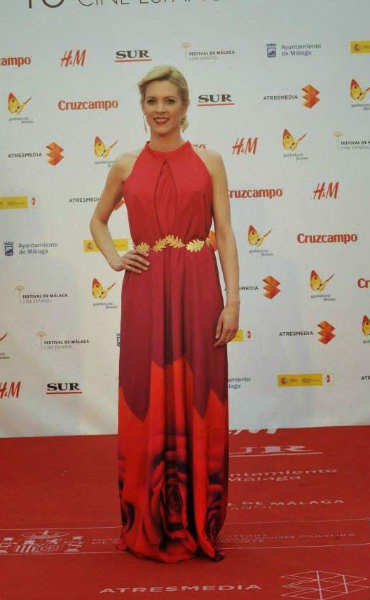 PACTAR CON EL DIABLO POR...: Maggie Civantos de Esther Noriega en la ceremonia de clausura del Festival de Cine de Málaga 2015