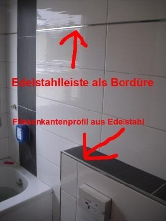 Fliesen Edelstahl Top Duschrinne Compact Taf Wall Edelstahl Fliese