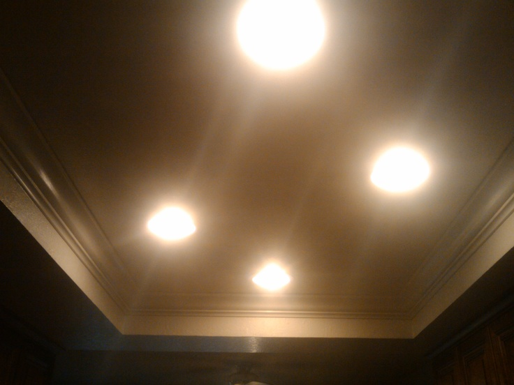 How To Install Recessed Lighting Crown Molding : Best images about crown molding with light on