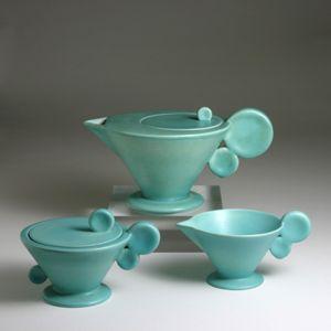 Margarete Heymann-Marks Lˆbenstein Tea Set c. 1930