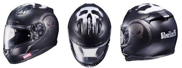 Confira os capacetes especiais inspirados em 3 super-heróis da Marvel, que foi lançado pela HJC Helmets para os aficionados por quadrinhos e motos.  #capacetes #motos #motocicletas #motociclistas #Marvel #ironman #captainamerica #thepunisher #geek #motorcycles #HJCHelmets